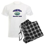 Chicago PD Marine Unit Men's Light Pajamas