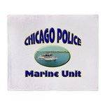 Chicago PD Marine Unit Throw Blanket