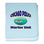 Chicago PD Marine Unit baby blanket