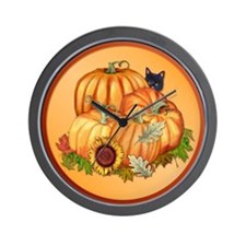 Autumn Bounty Wall Clock