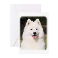 Samoyed 9Y602D-139 Greeting Cards (Pk of 20)