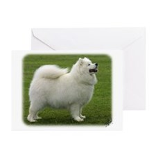Samoyed 8T91D-02 Greeting Cards (Pk of 10)