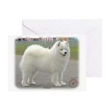 Samoyed 8w19d-18 Greeting Card