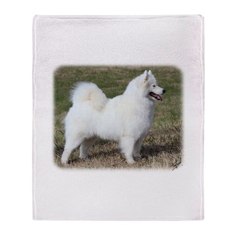 Samoyed 9Y602D-004 Throw Blanket