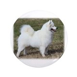 "Samoyed 9Y602D-004 3.5"" Button (100 pack)"