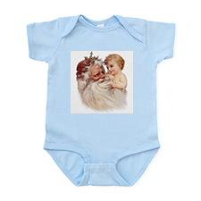 Santa and Cherub Infant Bodysuit