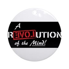 Ron Paul, 2012, Revolution, Love, Ornament (Round)