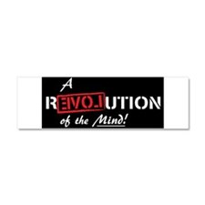 Ron Paul, Mind, Revolution,Love, Car Magnet 10 x 3