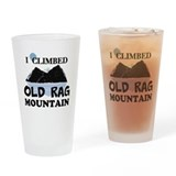 I Climbed Old Rag Mountain Drinking Glass