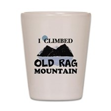 I Climbed Old Rag Mountain Shot Glass