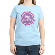 pink & purple big sister T-Shirt
