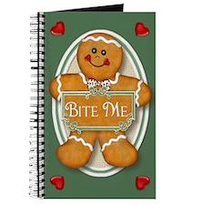 Gingerbread Man - Bite Me Journal