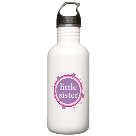 pink & purple little sister Stainless Water Bottle