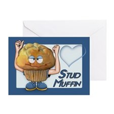 Stud Muffin Greeting Cards (Pk of 10)
