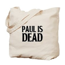 Classic Paul is Dead-- Tote Bag