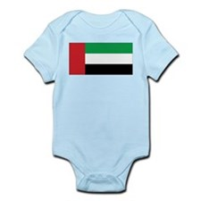 United Arab Emirates Flag Infant Creeper