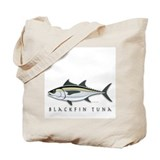 Blackfin Tuna Tote Bag