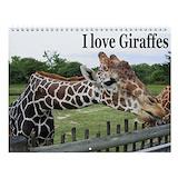 Giraffe Wall Calendars