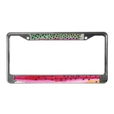 Rainbow Trout License Plate Frame