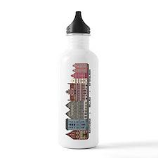 Amsterdam Netherlands Water Bottle