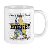 Hockey - not a simple game Small Mug