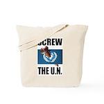Screw the UN Tote Bag