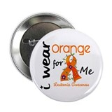 "I Wear Orange 43 Leukemia 2.25"" Button (100 pack)"