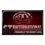 STI Rectangle Sticker 3