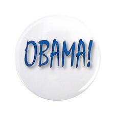 """Obama (zepher) 3.5"""" Button"""
