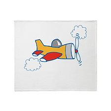 Big Airplane Throw Blanket