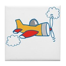 Big Airplane Tile Coaster