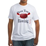 Bean Town Rowing 1 Fitted T-Shirt