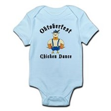Oktoberfest Chicken Dance Infant Bodysuit
