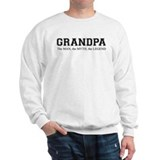 Grandpa the Man Myth Legend Sweatshirt