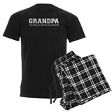 Grandpa the Man Myth Legend Pajamas