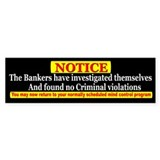 Bankers Not Guilty