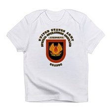 SOF - USASOC Flash with Text Infant T-Shirt