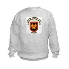 SOF - USASOC Flash with Text Sweatshirt