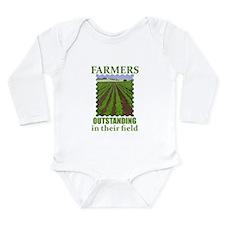 Outstanding Farmers Long Sleeve Infant Bodysuit