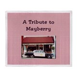 A Tribute to Mayberry Throw Blanket