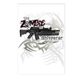 Zombie Whisperer Hunter M16 Postcards (Package of
