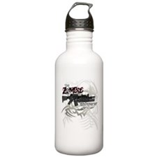 Zombie Whisperer Hunter M16 Water Bottle