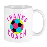 Soccer Coach Thank You Coffee Mug