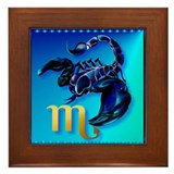 Scorpio Framed Tile