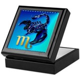 Scorpio Keepsake Box