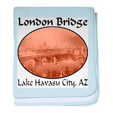 London Bridge, Lake Havasu City, AZ baby blanket