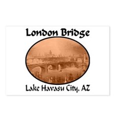 London Bridge, Lake Havasu City, AZ Postcards (Pac