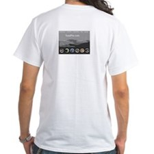 White ToadPie T Shirt Homepage