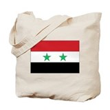 Syria Flag Tote Bag