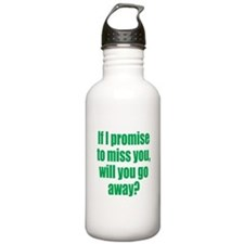 Promise to Miss You Water Bottle
